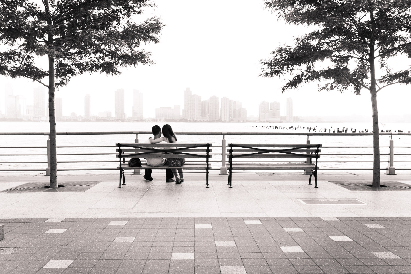 Couple, Hudson, NYC