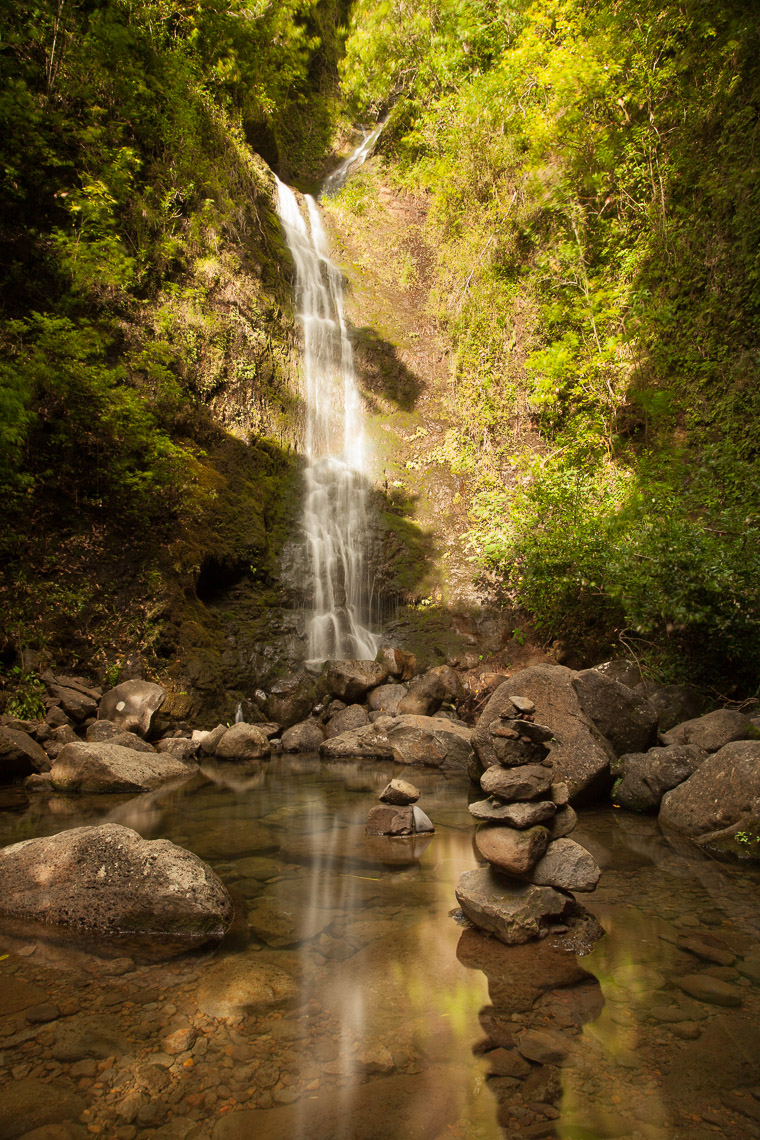 Waterfall, Oahu