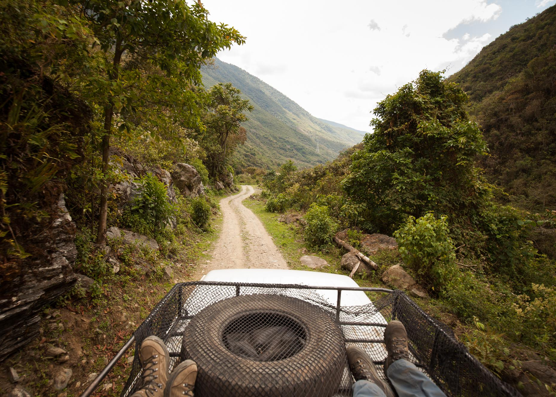 Jeep Ride, Salkantay Trek, Peru